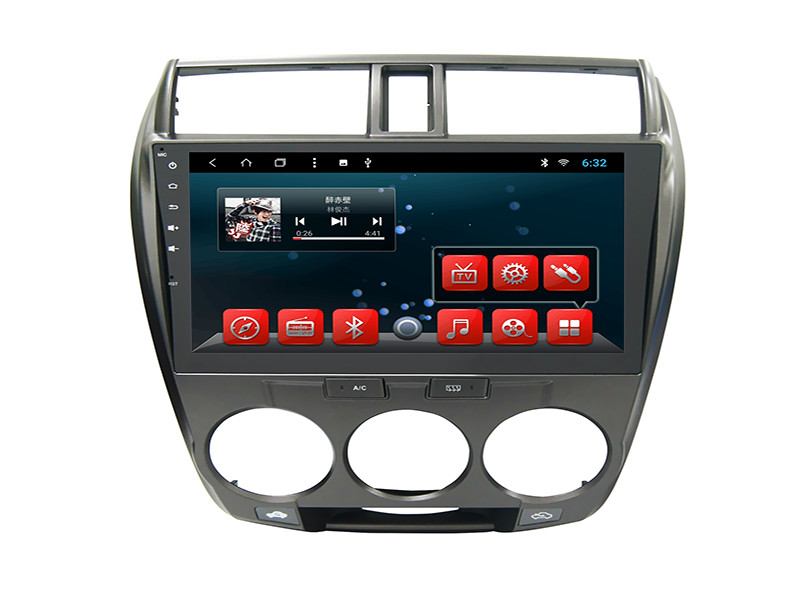 Android Car Navigation System Fast Start - Up IPod SWC Camera Input For Honda